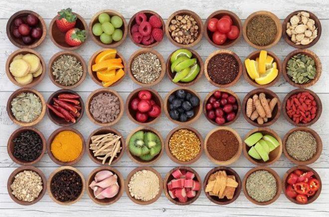 Органические продукты витамины
